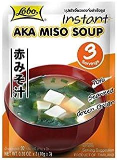 Sopa MISO instantánea (con miso rojo