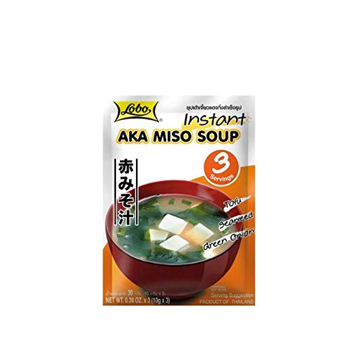 Sopa MISO instantánea (con miso rojo)