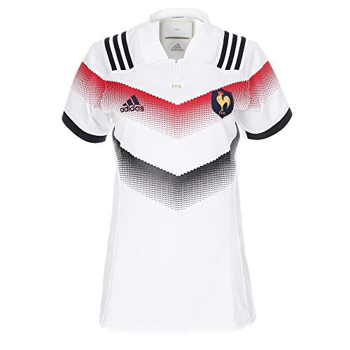 adidas Damen Ffr Auswärtstrikot, White/Punjab, L