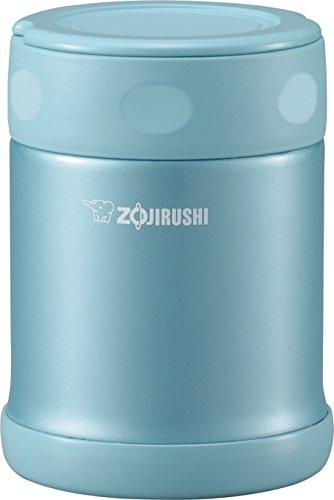 Zojirushi Stainless Steel Food Jar, 11.8 oz, Aqua Blue
