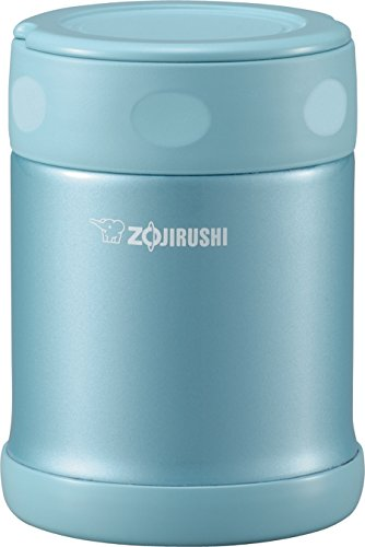 Zojirushi Stainless Steel Food Jar, 11.8-Ounce/0.35-Liter, Aqua Blue