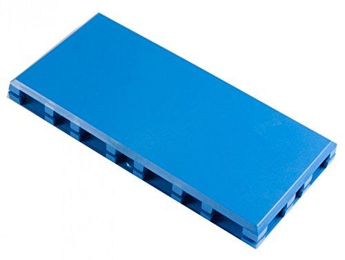 ALLNET Brick 'R' KNOWLEDGE 4x 2Schutzhülle aus Kunststoff und Deckel blau
