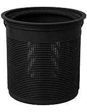 【抗菌】Belca 排水口 ゴミ受け 流し用ゴミカゴ 135タイプ 直径13.5×高さ13cm ブラック 日本製 SP-231BK