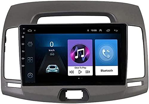 Double DIN DIN Car Radio Estéreo MP5 Player Navigator para Hyundai Elantra 2007-2011, Android 8.1 Player Multimedia, Enlace FM/Espejo/Bluetooth/Cámara inversa