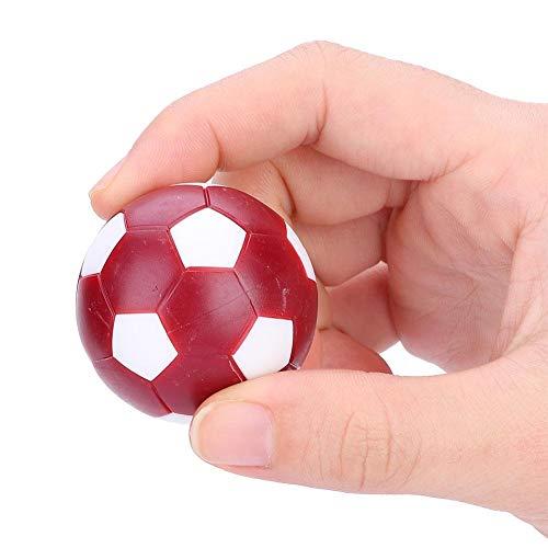 Dilwe Foosball Bälle, 8 Stück Mini Soccer Balls Tischfußball Foosballs für Table Soccer Game