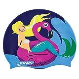 Finis Mermaid Capuchon en Silicone Flamingo Bonnet de Bain