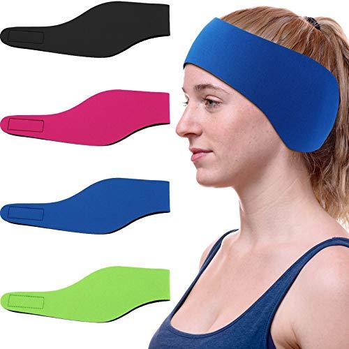 4 Pieces Swimming Headband Swimming…