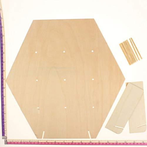 NIHAOYA 1 paquete de tablero de donut de madera soporte de pared reutilizable Donut Board Holder Donut Wall para baby showers