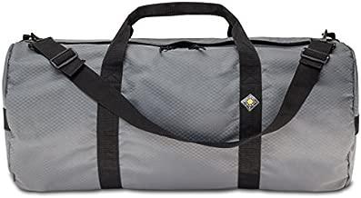 Northstar Sports 1050 HD Tuff Cloth Diamond Ripstop Series Gear and Duffle Bag, 14 x 30-Inch, Slate Gray