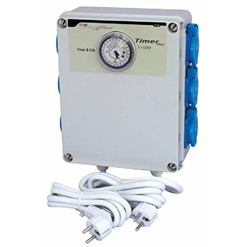 Cadre électrique avec minuteur 6 x 600 W