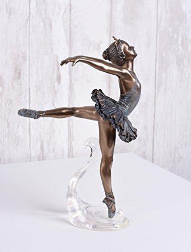 Balletttänzerin Figur Ballerina Schwanensee Primaballerina Skulptur Palazzo Exklusiv