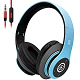 8S Wireless Headphones Over Ear, Hi-Fi Stereo Foldable Wireless Headphones Built-in Mic, Bluetooth Headphones with Micro SD/TF, FM for iPhone/Samsung/iPad/PC …