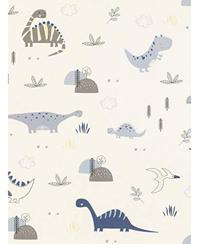 9347 壁紙 ウォールペーパー 恐竜 ナチュラル 53cm x 1005cm [並行輸入品]