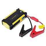 ジャンプスターター 128000mA大容量 600Aピーク電流 (最大5.0Lガソリン車・4.0Lディーゼル車対応) LEDライト
