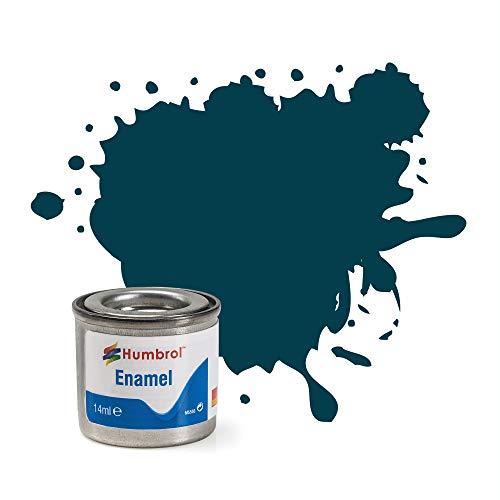 Humbrol 230 - Vernice Smaltata n. 1, 14 ml, Colore: Blu Opaco