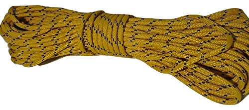 5/16 Inch by 100 Feet Gold Double Braid Polyester Rope