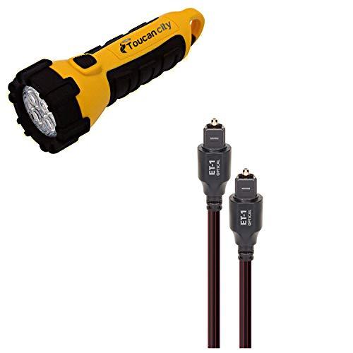 Toucan City LED Flashlight and PipeLine…Emotional Transporter ET-1...