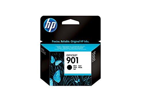 HP 901 901 Officejet Ink Cartridges Tintenpatrone, Schwarz, 20 bis 80 % HR, -40 bis 60 °C, 15 bis 32 °C, 20 bis 80 % HR, 116 x 36 x 115 mm, 0,05 kg