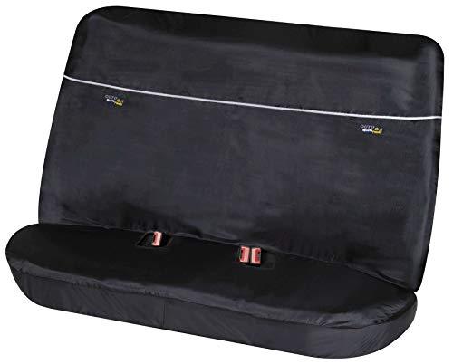 Walser Schonbezug für Rückbank Universalgröße mit Gurtführung Outdoor Sports schwarz