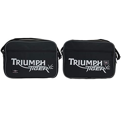 mächtig Tolle Motorradausstattung – Triumph Tiger Explorer 1200 Innengepäcktasche mit Aufdruck