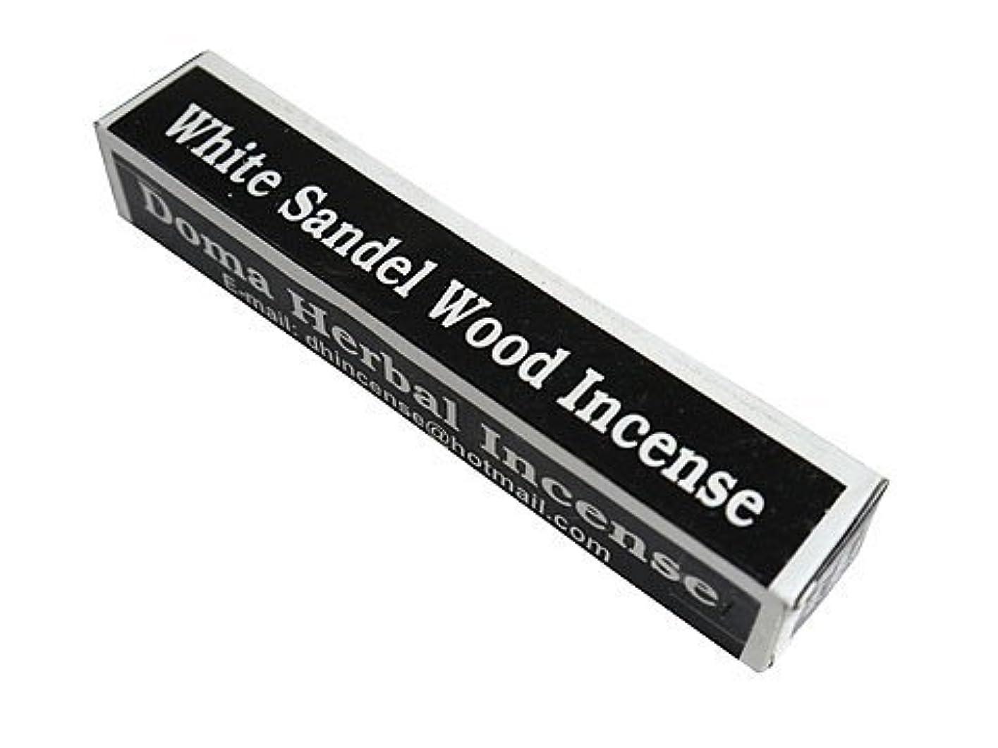 ロマンス気を散らす可能にするドマハーバルインセンス Doma Herbal Incense【WhiteSandalWoodIncense ホワイトサンダルウッド】