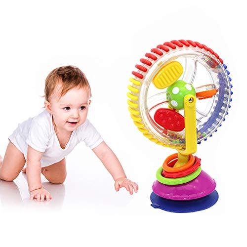 Bébé Wonder Wheel hochets Jouets Cartoon Rotating Grande Roue avec Ventouse pour bébé Enfants Education Jouets Jeu