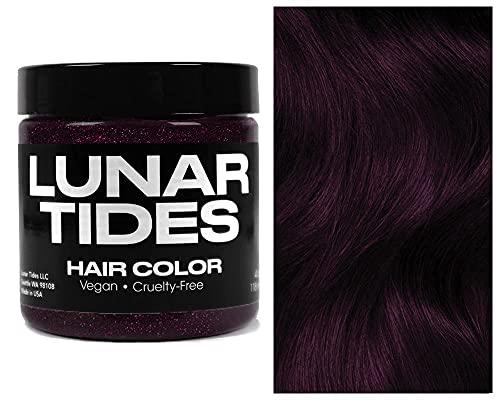 Lunar Tides Hair Dye - Magic Charm Black Pink Glitter Semi-Permanent Vegan Hair Color (4 fl oz / 118 ml)