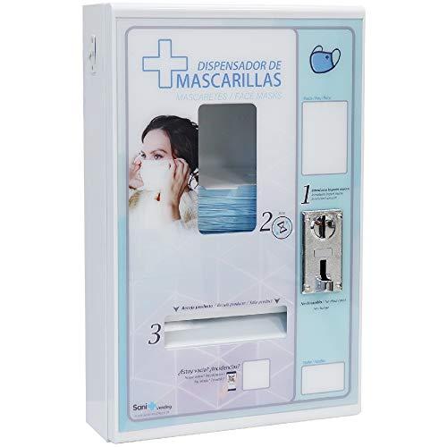 SANIVENDING Máquina de Vending expendedora de Mascarillas | envío desde España