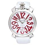 [ガガミラノ] 腕時計 ホワイト文字盤 裏蓋スケルトン 5010.14S-WHT 並行輸入品 ホワイト