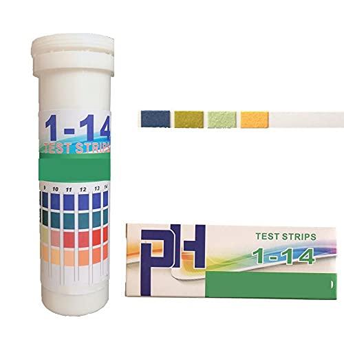 LMNUY medidor de Humedad 150 Tiras en Caja PH Tiras de Prueba Rango 1-14 probador de Papel indicador de Rango 4.5-9.0 PH Las Tiras de Prueba for Saliva y orina de 15% de Descuento Sensor de Humedad