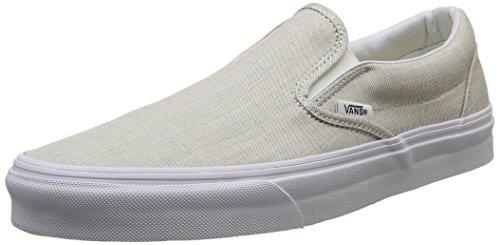 Vans Classic Slip-on, Unisex-Erwachsene Sneakers, Grau (Chambray/Gray/True White), 38.5 EU