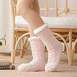 Nuevos Calcetines de Invierno para Mujer, además de algodón Grueso,...