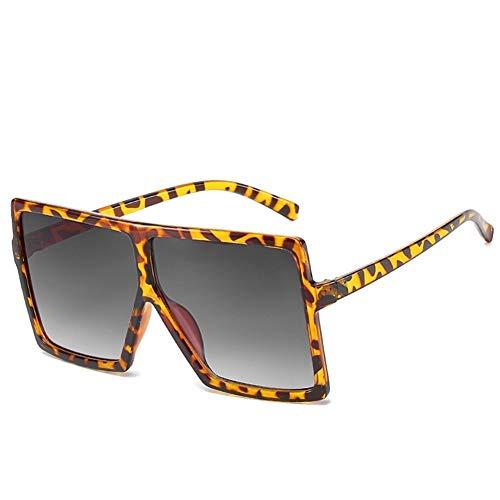 NOBRAND Regalo Maravilloso Pero práctico 2pcs Flat Top Frame Sombra Cambio Gradual Mujer Grandes Gafas De Sol (Size : 5)