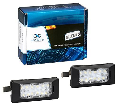AUTOLIGHT 24 Premium LED Kennzeichenbeleuchtung Nummernschildbeleuchtung für 610 2