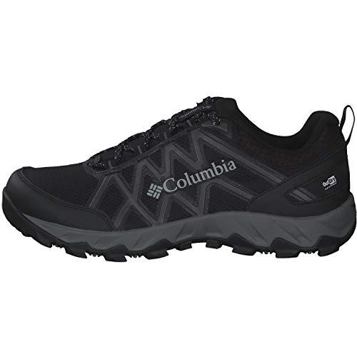 Columbia Peakfreak X2 Outdry, Zapatos de Senderismo, para Hombre, Black, Ti Grey Steel, 44 EU