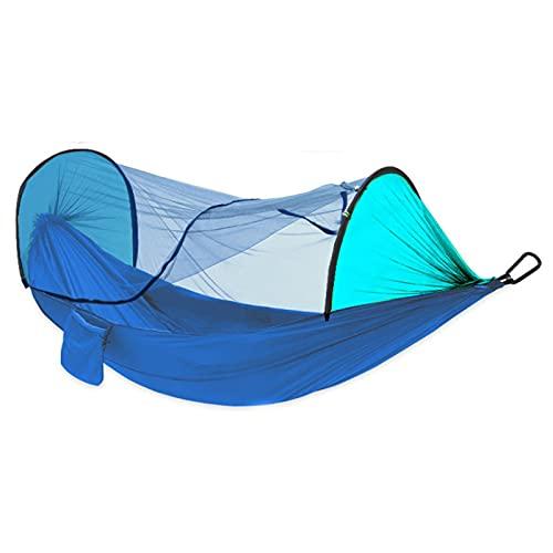 FGJH Camping Hammock con mosquitero Portátil Portátil Portátil Cama Colgando 260cmx140cm al Aire Libre 728 (Color : 03, Size : 260cmX140cm)