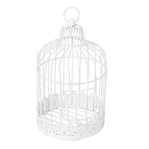 Chaks 80241, Tirelire Cage métal Ronde blanche vintage