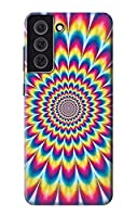 JP3162S25 カラフルなサイケデリック Colorful Psychedelic For Samsung Galaxy S21 FE 5G 用ケース
