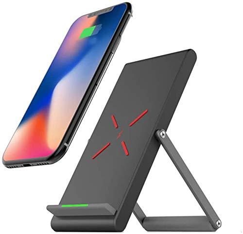 LY88 draadloze snellader Qi 10 W voor iPhone X 10 8 Plus oplader met USB-oplaadkabel voor Samsung Galaxy S8 S9 Note 8