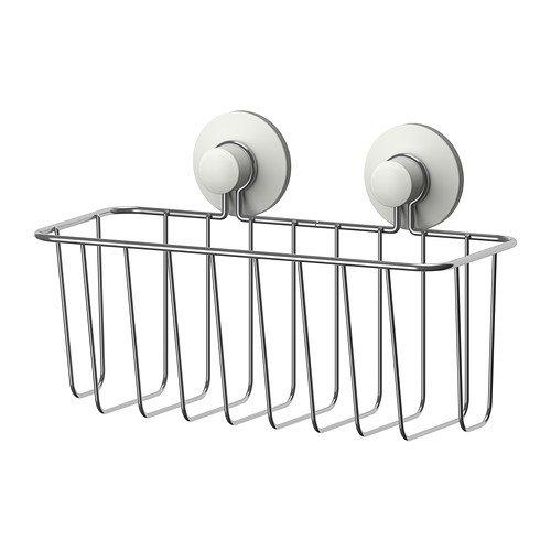 IKEA immeln - Duschkorb, verzinkt - 24x14 cm