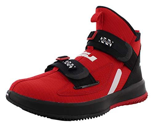 Nike Men's Lebron Soldier 13 SFG Basketball Shoes (10.5, University Red/White/Black)
