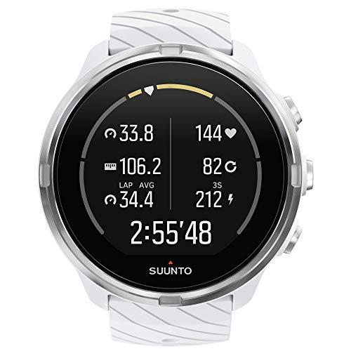 Suunto 9 Reloj con GPS para Multideporte, Unisex, Blanco, Talla Única