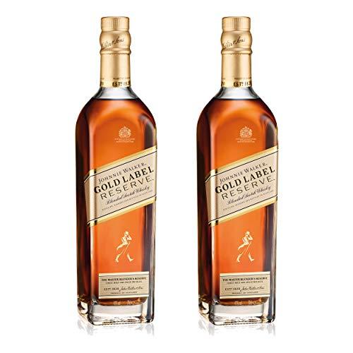 Johnnie Walker Gold Label 733836 - Lote de 2 Botellas de Whisky Deslumbrante (Alcohol, 40%, 700 ml)