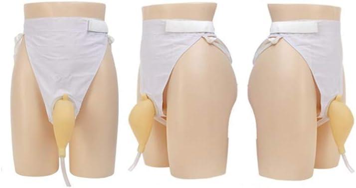 YNGJUEN Men Ms Urine Bag 1000ml Portable Wearable Urinal Anti-Le
