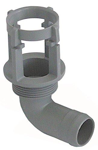 Vanne de vidange pour lave-vaisselle Colged SILVER-50, Silver50, Steeltech-360, 50, Elettrobar 050FP 11В4' 11В4' Tuyau 30 mm