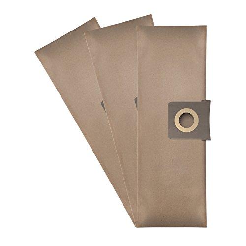 Wessper® Staubsaugerbeutel für Bauhaus Herkules 3000 (3 Stück, Papiersäcke)