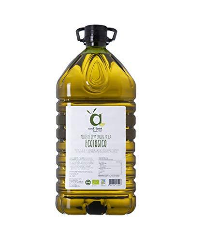 Casalbert. Aceite de Oliva Virgen Extra Ecológico. Aceite de oliva español, 100% natural y artesanal (5 Litros)