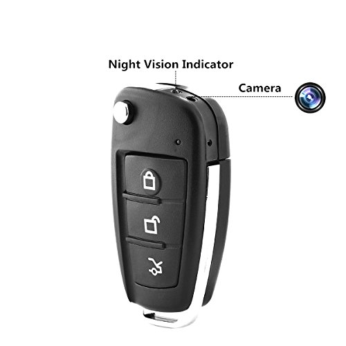 Cheapest Prices! Car Key FOB Camera Recorder -Mini DV HD 1080P Cam DVR Video Infrared Night Vision M...