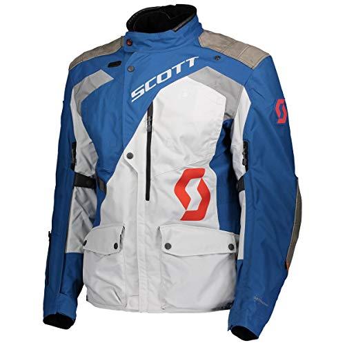Scott Dualraid Dryo Motorrad Jacke blau/grau 2020: Größe: XL (52/54)