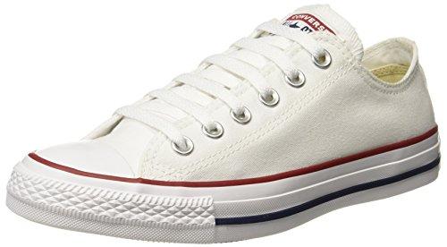 Converse Unisex Canvas Sneakers_Optical White_7 UK / 8 US(150768C)